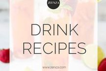 Drink Recipes - Punches, Cocktails, Juices and Smoothies / This board features great drink recipes - from lemonades and punches to juices, cocktails and smoothies!