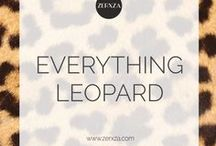 Everything LEOPARD print ♥ / Leopard print is simply awesome and we love everything in leopard print! Leopard outfits, leopard decor - everything!
