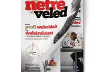 Weboldalkészítés ötletek / Weboldalkészítés a Netre Veled magazin segítségével, weboldalkészítés ötletek, honlapkészítés
