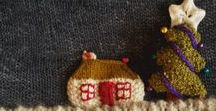 Knitted Christmas! / Christmas knitting: gifts & decorations to warm the heart (and hearth...)
