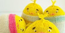 Knitted Easter! / Free knitting patterns with an Easter theme.