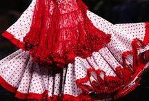 Платья  Испании