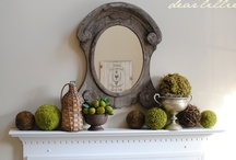 Mantel Decoration / by Magazine Your Home