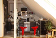 interiors_attics / by buttercup's sister