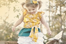 Crafty girliness  / Clothes for the little females  / by Jarel Anderson