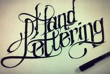Calligraphy & lettering / by Kent1 DRVN