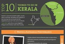 Travel to Kerala / If you're on a journey to unravel the mysteries of the great subcontinent, the colourful and aromatic state of Kerala is a pretty good place to start. Home to virtually every kind of physical terrain and weather condition, Kerala, also known as 'God's Own Country', is quite the experience. Whether you're looking to bronze some skin, experience the charm of an elephant ride, spend a night on a luxury houseboat,blend into the rolling mists of the hills. A tour to Kerala will take your breath away.