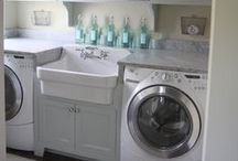 Laundry Rooms / the all important cleaning up room