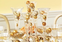 Party Inspiration | New Years Eve Party / Glitter and Gold New Years Party ideas