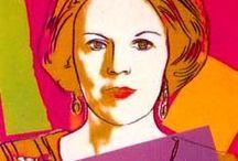 Un peu d´Art Moderne / Modern Art, Pop Art, Graffiti, Collage. Andy Warhol