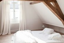Sleep \\ Bedroom Decor / Creating a fresh space for the bedroom. Simple, airy, minimalist.