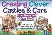 Kid Books and Crafts / Fun craft ideas for kids. Many items can be re-purposed to save the family budget.