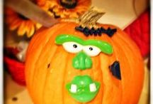 Pumpkin love / Pumpin images; pumpkins decorated; pumpkin recipies.