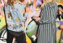 Poppy & Cara Delevigne