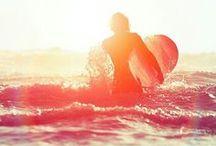 West Side Vibes / Surfer Style. Surf. Beach. Sea. Sunrise. Sunset. California. L.A. Girls