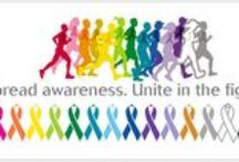 Awareness for a Cause / Increase the publics awareness when you weer a color ribbon. Join a cause we are passionat about.