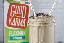 Dairy-free Goodness with Good Karma Flaxmilk