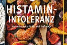 Ernährung bei Nahrungsmittelunverträglichkeiten / Hier findet ihr viele leckere Rezepte und tolle Bücher rund um die verschiedensten Nahrungsmittelunverträglichkeiten. Egal ob Histamin-Intoleranz, Glutenunverträglichkeit oder Laktose-Intoleranz.