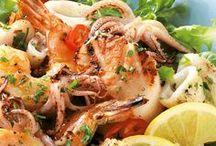 Mediterrane Küche / Hier findet ihr viele leckere Rezepte aus der mediterranen Küche. Von griechischem Gyros, über italienische Pasta, bis hin zu spanischen Tapas.