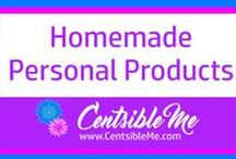 Homemade Personal Products / Recipes for homemade personal products, like bath bombs, deodorant, perfumes, soaps, lotions, and so on. This board may contain pins with affiliate links.