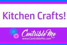 Kitchen Crafts! / All sorts of super cool crafts you can do to enhance your kitchen. This board may contain pins with affiliate links.
