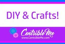 DIY and crafts / Crafts and DIY of all kinds. Let's get out our glue guns and go crazy, y'all!  This board may contain pins with affiliate links.