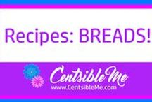 Recipes: Breads / All about BREAD recipes! Bread is yummy and delicious, especially right out of a hot oven. Click here for heavenly flavor! Also check out www.CentsibleMe.com. This board may contain pins with affiliate links.