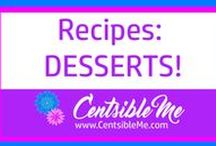 Recipes: Desserts / Mouth-watering desserts of all kinds and all flavors are to be found here. Also find more at www.CentsibleMe.com. This board may contain pins with affiliate links.