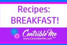 Recipes: Breakfast / Delicious, scrumptious, tantalizing breakfast ideas to be found here. Also visit me at www.CentsibleMe.com for more. This board may contain pins with affiliate links.