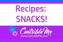 Recipes: Snacks / Quick and easy snacks for anyone and everyone. This board may contain pins with affiliate links.