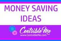 Money Saving Ideas / It can be a real challenge and struggle to save money these days, but there are a lot of awesome resources on the internet where you can learn how to finally stop spending every dime, and get serious about saving money. This board may contain pins with affiliate links.