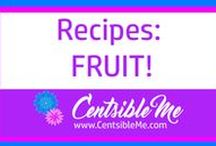 Recipes: Fruit / Fruit, fruit, and more fruit! Recipes using fruit. I just love fruit -there are so many ways you can incorporate fruit into your daily diet. This board will help! This board may contain pins with affiliate links.