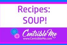 Recipes: Soup / Soup recipes. I really love soup any time of the year - even in the summer! Tons of soup recipes and ideas for everyone. This board may contain pins with affiliate links.