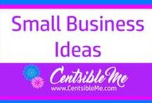Small Business Ideas / All about small businesses. Many you can run from your own home, or begin as a part-time side hustle until you are doing well enough to go for it full time. This board may contain pins with affiliate links.