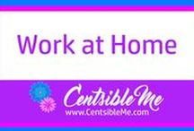 Work at Home / Information and resources for those who would love to work from the comforts of their own homes. This board may contain pins with affiliate links.