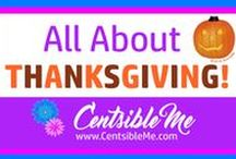 All About THANKSGIVING! / Thanksgiving recipes for main dishes, sides, breads, and desserts, as well as Thanksgiving decorations, and more!  This board may contain pins with affiliate links.