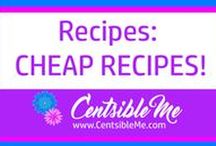 Cheap Recipes / Recipes using inexpensive ingredients. Good food doesn't have to cost a lot!