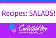 Recipes: Salads! / Recipes for salads! I love a really delicious cold salad on a very hot day, or a nice warm salad on a cold evening. Whichever way you like your salad, you're sure to find an amazing recipe here!