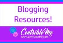 Blogging Resources / Great resources for people who are brand new to blogging, or who have been blogging for awhile, but are looking for something a little extra.