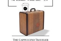 "At Home with the ""CT"" / Get a glimpse into the personal coffee life of Crystal, also known as ""The Cappuccino Traveler""."
