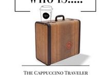 "Who is ""The Cappuccino Traveler""? / Discover the girl behind the coffee mug and glasses and how she became, ""The Cappuccino Traveler""."