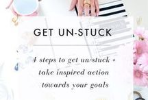 Tips For Achieving Goals / A board devoted to aspirational and inspirational​ ways to achieve your goals. Organising tools, quotes and how to's, so that you can finally create a beautiful life. Go on girl, you deserve it!