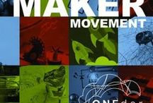 Maker Spaces / Ideas for creating a Maker Space in your classroom or library.