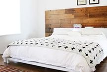 Bedrooms / by Ellie Snow