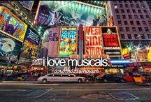 Musicals ♫ Theatre ♫ Broadway / by Reba Rebel