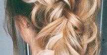 Hair / hair, blonde, blonde hair, sombre, ombre, healthy hair, hair tips, hairstyles, updos, braids