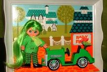 ~][)(][~ Dolls & Toys etc. ~][)(][~ / by Sherry Lee Schuler