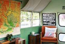 alt homes inspiration / summer homes / campers / travel homes / yurts / by Caroline