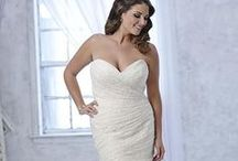 Manchester-Sample Sizes 16 & Up / Most of these dresses are available in sizes 0-28. / by Heart to Heart Bridal