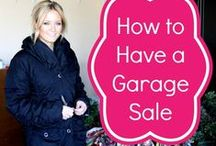 GARAGE YARD SALE / GARAGE YARD SALE / by Sona Sanders